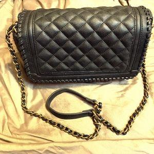 Big Buddha Black Quilted handbag